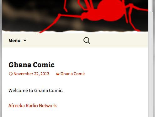 Ghana Comic Mobile